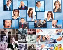 职业办公人物摄影高清图片