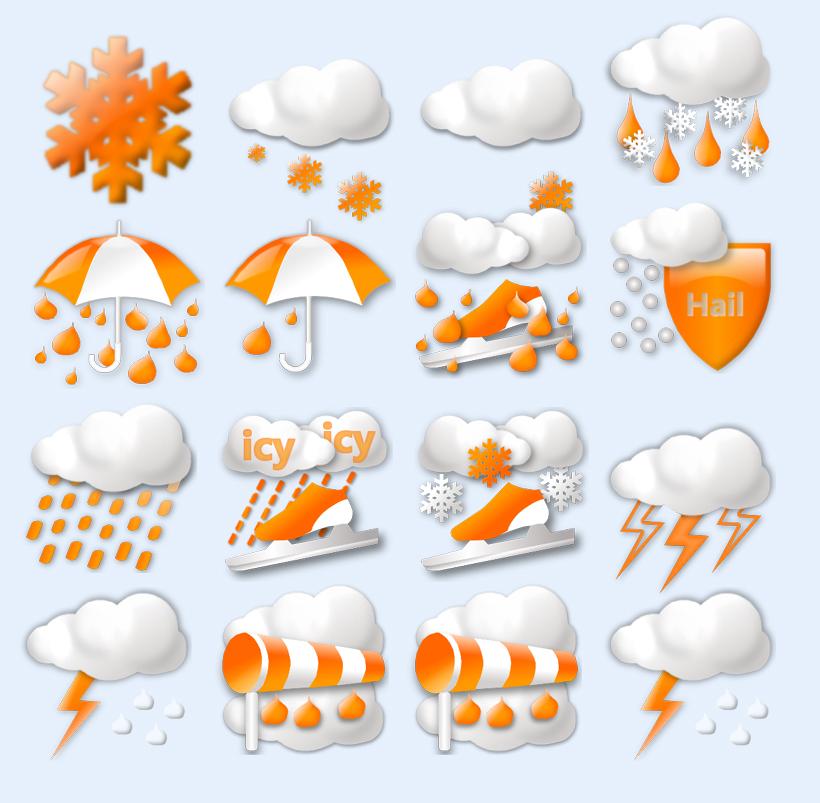 天气预报大全png图标
