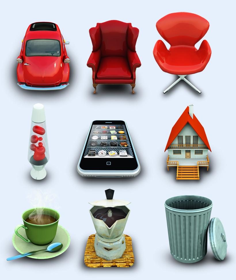 高清红色的汽车png图标 - 爱图网设计图片素材下载