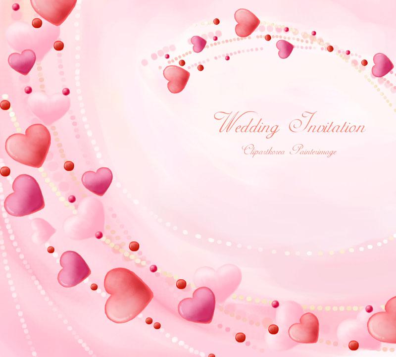 爱心图案爱心装饰封面设计背景爱心粉色背景爱心花边
