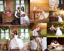 浪漫的国外婚纱摄影高清图片