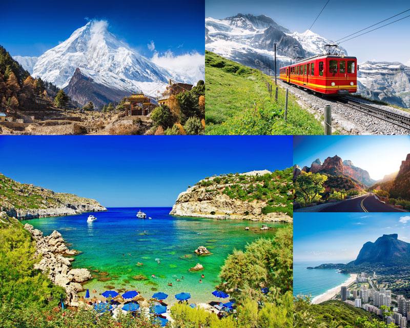 山水景色图片 - 爱图网设计素材共享平台
