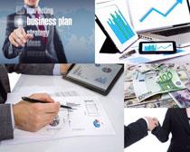 金融计划商务摄影高清图片