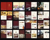 时尚家具画册设计矢量素材