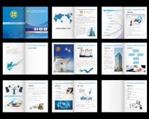 电子商务画册矢量素材