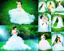 户外婚纱摄影写真高清图片