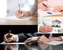 商务合作签字高清图片