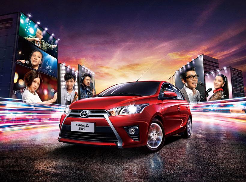 奔驰汽车新车发布宣传海报设计psd素材图片