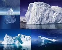 冰山海面摄影高清图片