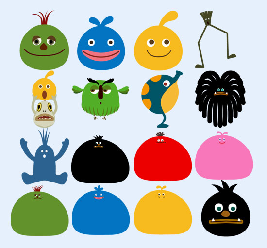 个性卡通乐克动物png图标图片