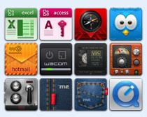 多款安卓手机系统图标PNG图标
