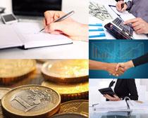 金融货币计算器商务高清图片