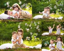 吹泡泡快乐的小朋友时时彩娱乐网站