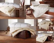 床单套装摄影高清图片