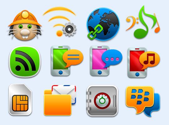 手机邮件png图标 - 爱图网设计图片素材下载