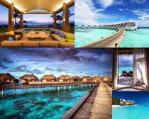 馬爾代夫旅游景觀高清圖片