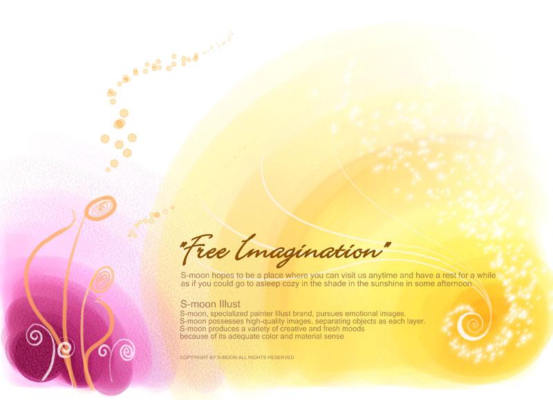 爱图首页 psd素材 自然生态 色彩背景 绘画图案 封面设计 花纹 背景