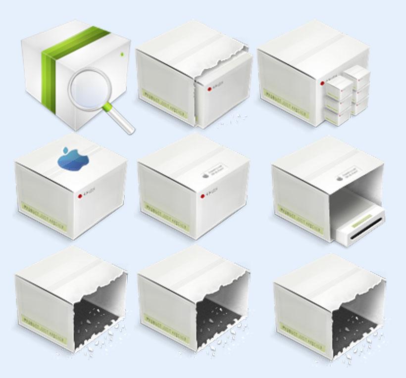 创意盒子png图标 - 爱图网设计图片素材下载图片