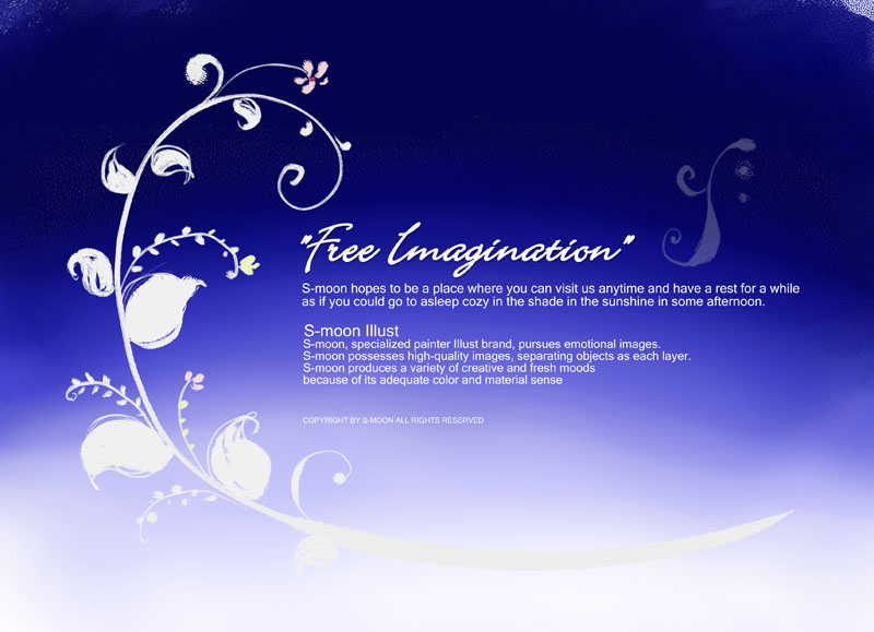 爱图首页 psd素材 自然生态 > 素材信息   关键字: 蓝色背景绘画蓝色