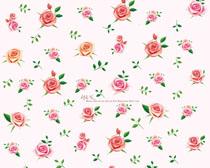 背景图案玫瑰花朵PSD素材