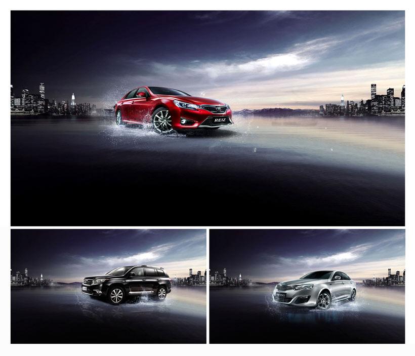 别克汽车活动宣传海报设计psd素材 - 爱图网设计图片图片