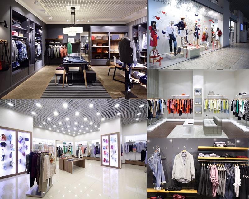 商场服装衣服摄影高清图片