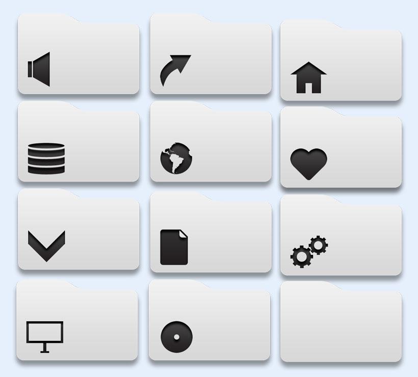 手机个性图标名称_个性标签风格图标下载