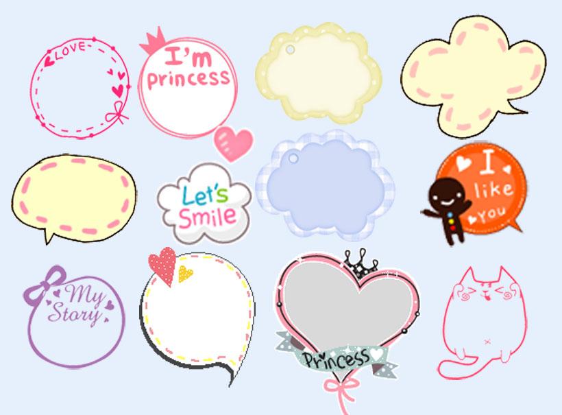 关键字: 韩国边框卡通设计对话框粉红色个性图标系统图标png图标