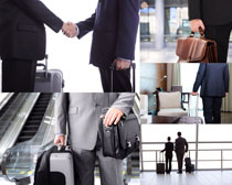 商务旅行合作高清图片