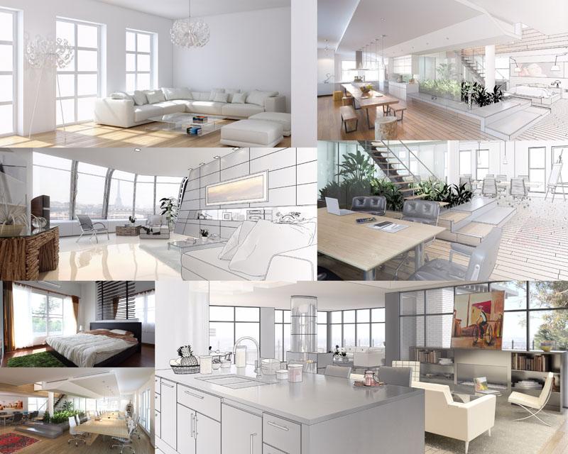 室内装修立体效果图