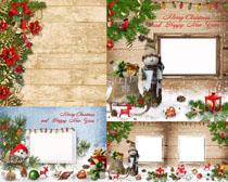 圣诞节装饰背景设计高清图片