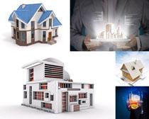 3D房子设计摄影高清图片