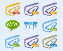 个性气象设计PNG图标