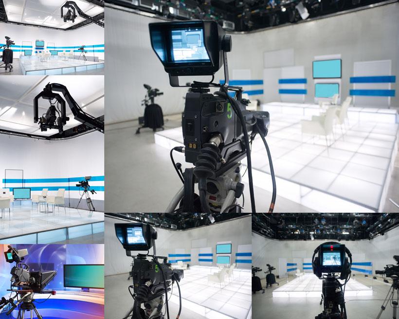 摄影棚设备高清图片