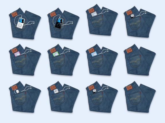 牛仔裤设计png图标 - 爱图网设计图片素材下载