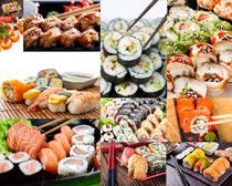 寿司日本料理摄影高清图片