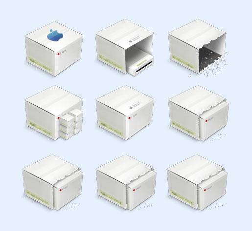 白色的紙箱png圖標 - 愛圖網設計圖片素材下載