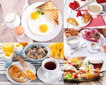 国外营养早餐摄影高清图片