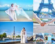 浪漫婚纱拍摄情侣摄影高清图片