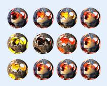 个性星球PNG图标