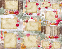 圣诞边框素材摄影高清图片