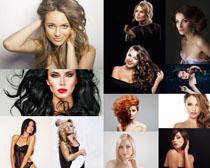 外国女子发型拍摄高清图片