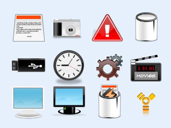 白色垃圾桶png图标 - 爱图网设计图片素材下载