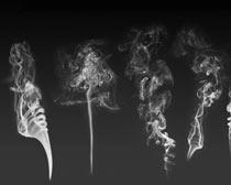 螺旋状烟雾效果ps笔刷素材