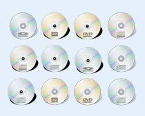 闪光的幻彩光碟PNG图标