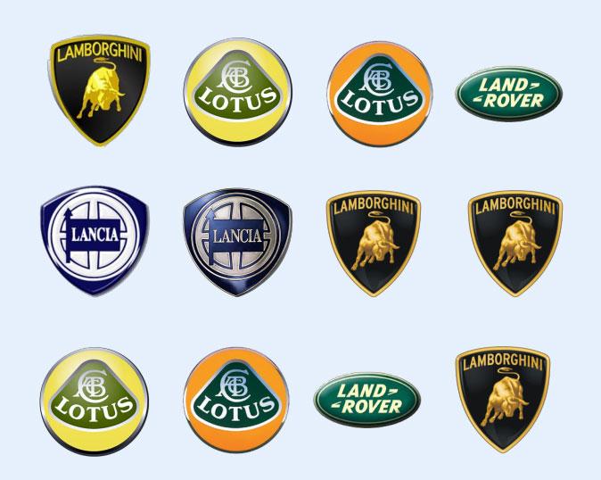 各种跑车的标志_跑车标志大全及名字