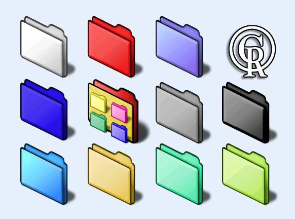 多彩的文件格式显示 png 图标图片