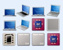 电脑CPU图标PNG图标