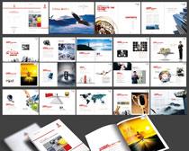 时尚企业画册设计PSD素材