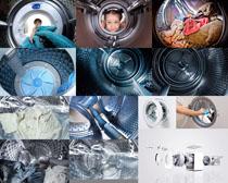 滚筒洗衣机拍摄高清图片